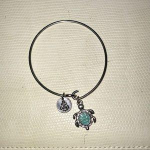 Alex and Ani turtle bracelet